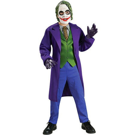 Boy's Deluxe Joker Costume - The Joker Costume For Girls