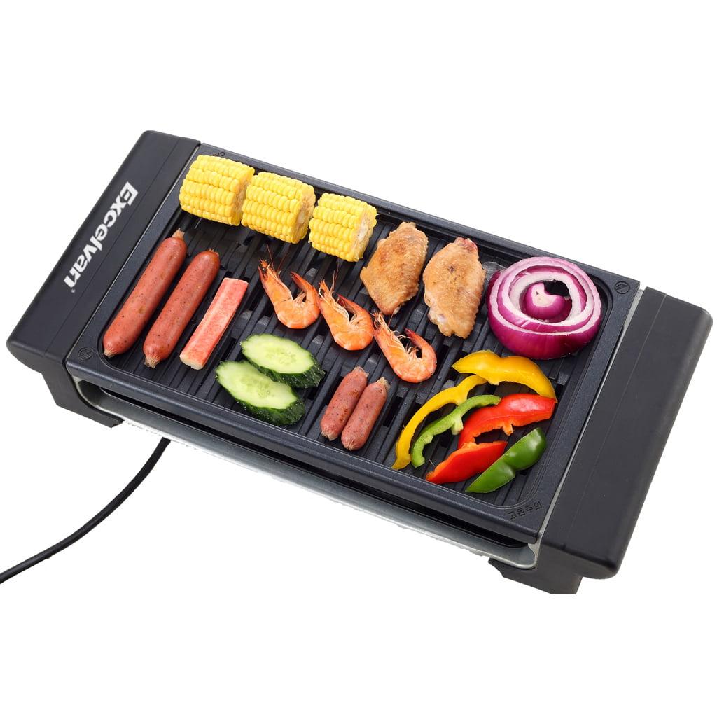 Excelvan Electric Grill Indoor Barbecue 1120w Walmart Com