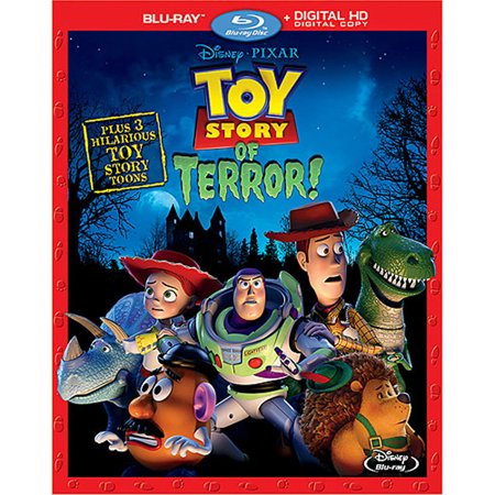 Toy Story of Terror! (Blu-ray + Digital HD)](Toy Story Halloween Vhs)