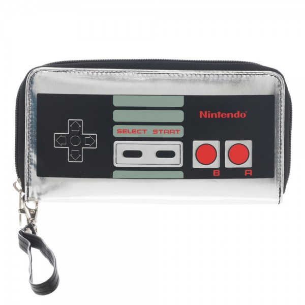Large Zip Around Wallet - Nintendo - Controller New Licensed gw2ufxnct