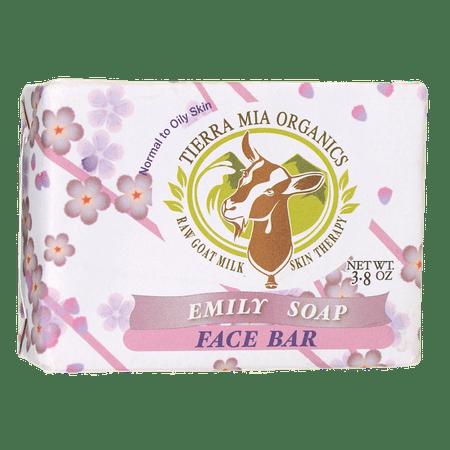 Tierra Mia Organics Emily Soap Face Bar 3.8 oz (Pangea Organics Organic Soap)