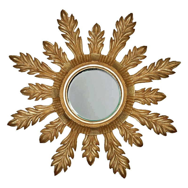 Hickory Manor House Solare Mirror - 29W x 29H in.
