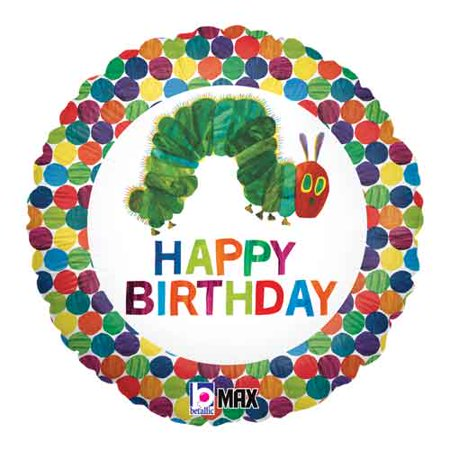 The Very Hungry Caterpillar Foil Mylar Balloon (1ct) for $<!---->