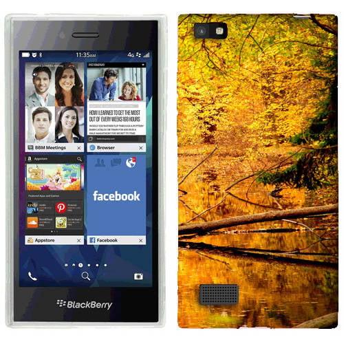 Mundaze Golden Autumn Phone Case Cover for BlackBerry Leap