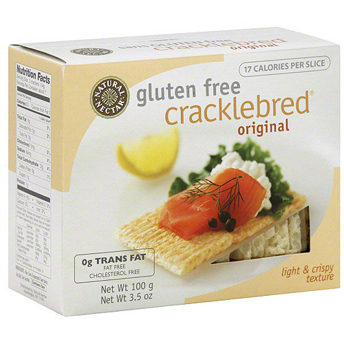 Natural Nectar Original Gluten Free Cracklebred, 3.5 oz (Pack of 12)