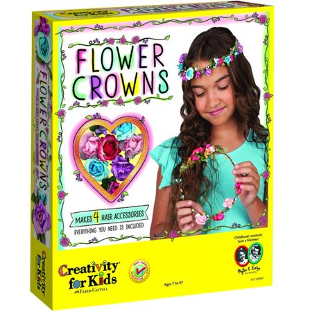 Kids Thanksgiving Crafts (Flower Crowns - Craft Kit by Creativity for)