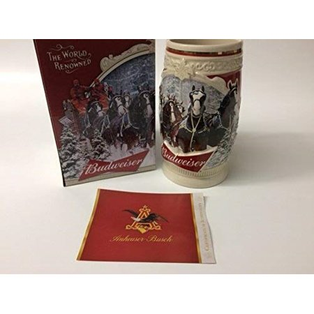 - 2015 Budweiser Holiday Stein