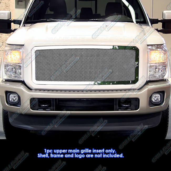 APS Compatible with 2011-2014 Ford F250 F350 Super Duty Stainless Steel Billet Grille S18-C82868F