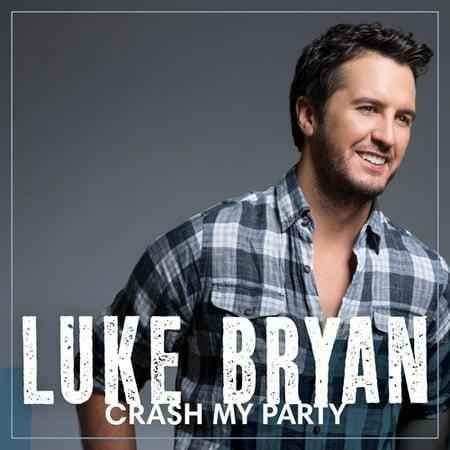 Luke Bryan - Crash My Party (CD) (Party City Disco)