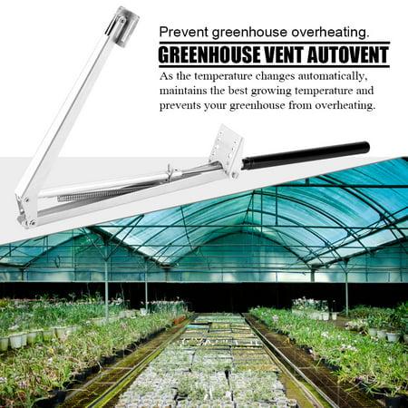 Greenhouse 2 Roof Vents (Tbest Sensitive Auto Thermo, Auto Thermo for Window,Greenhouse Window Opener Vent Autovent Solar Heat Sensitive Automatic Greenhouses)