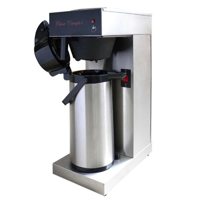 Classic Concepts GBAP Stainless Steel Commercial Coffee Brewer - Pour-Over With Airpot