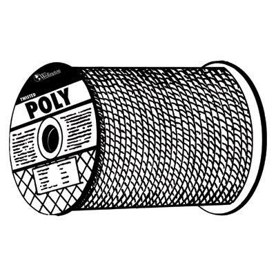 Monofilament Twisted Yellow Poly Ropes, 600 Ft, Polypropy...