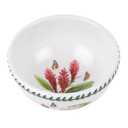 Portmeirion Exotic Botanic Garden Individual Fruit Salad Bowl, Set with 6 Assorted Motifs