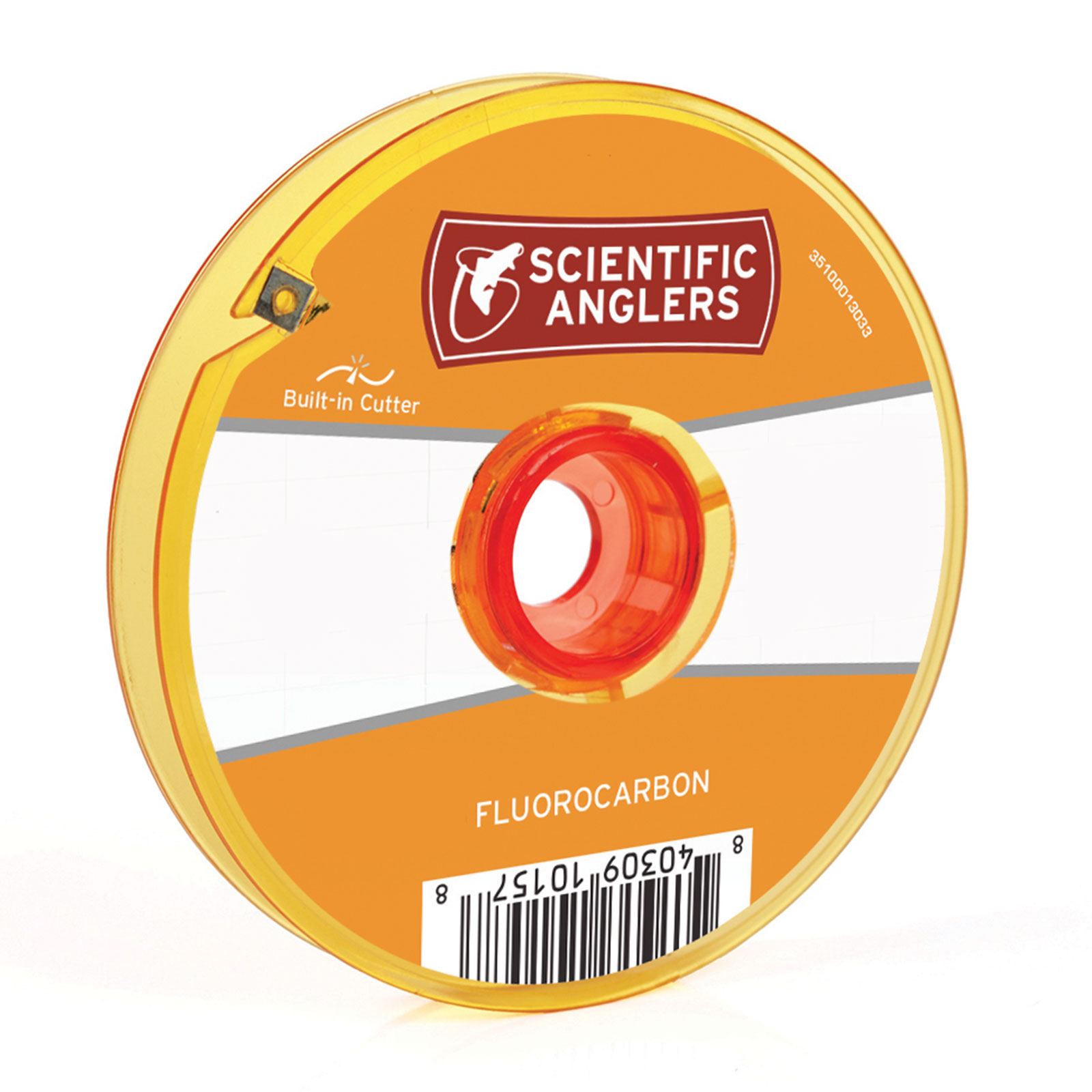 Scientific Anglers Premium Fluorocarbon Fly Fishing Tippet Spool With Cutter