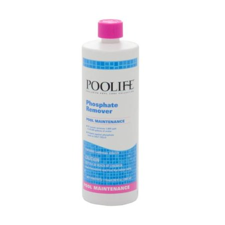 Phosphate Remover 1 Qt Lowers Pool Phosphate Levels By Poolife From Usa