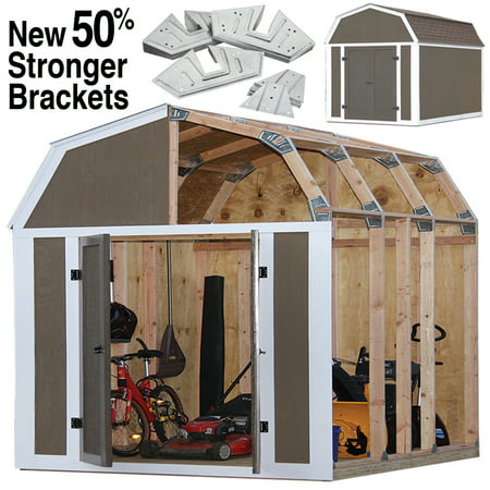 Wooden Shed Kits - Barn Style Shed Kit
