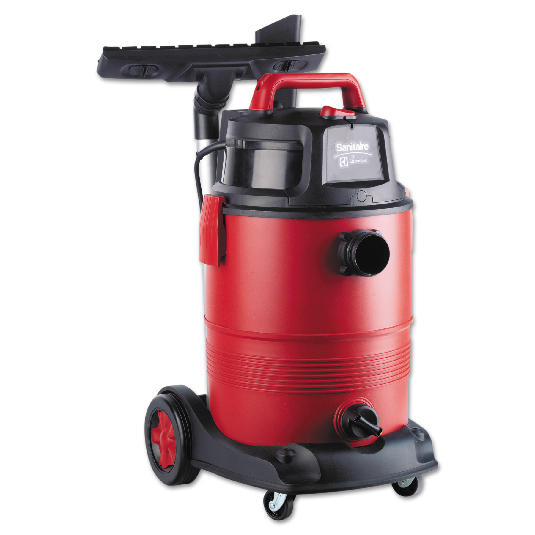 Sanitaire Commercial 8 Gallon Wet/Dry Vacuum, Red