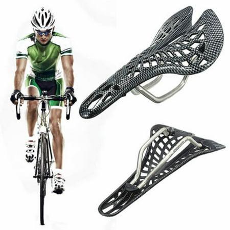 Carbon Fiber Mountain Racing Bike Cycling Bicycle Hollow Saddle (Fiber Saddle)