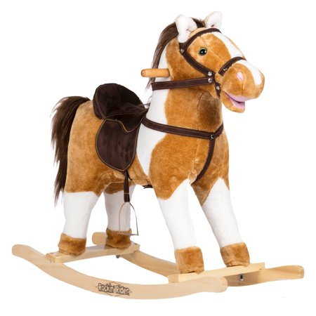 Rockin' Rider Turbo Rocking Horse ()