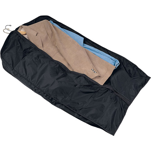 Household Essentials Travel Garment Bag, Black