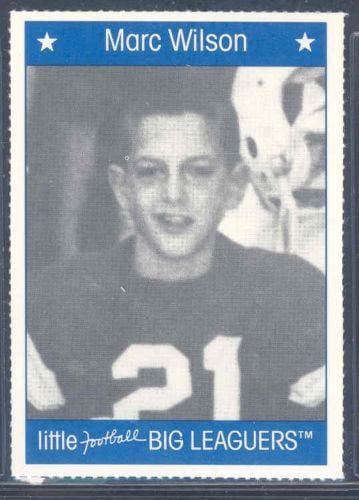 1990 Little Big Leaguers Marc Wilson Patriots Little League Photo by