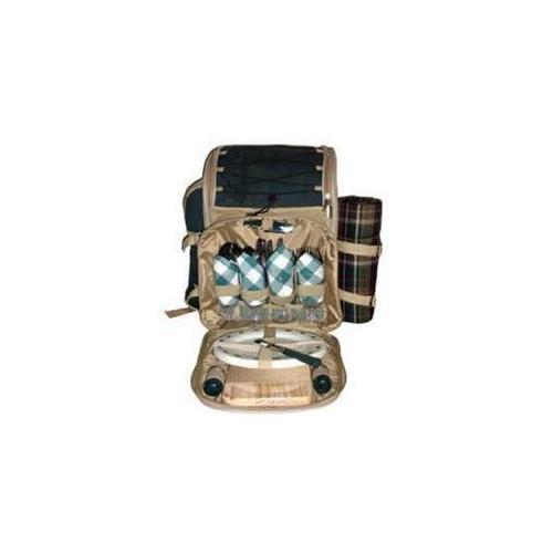 Sutherland Baskets SPB3305B1R Aztec Picnic Backpack - Green