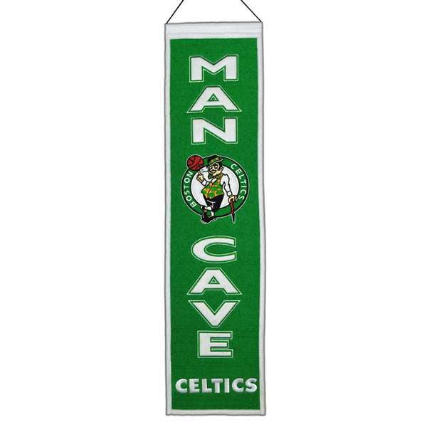 Boston Celtics Man Cave Banner Pennant 8 X 32