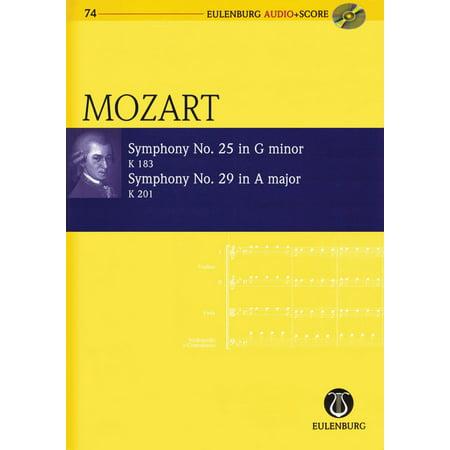 Symphony No  25 G Minor K183 And Symphony No  29 A Major K201  Eulenburg Audio Score 74