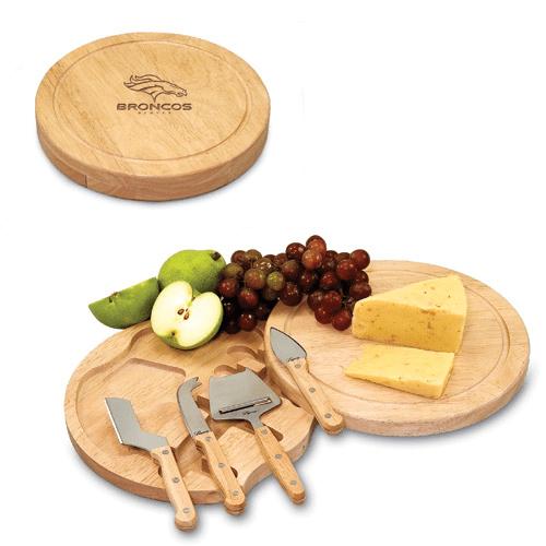 Denver Broncos Circo Cheese Board & Tool Set - No Size