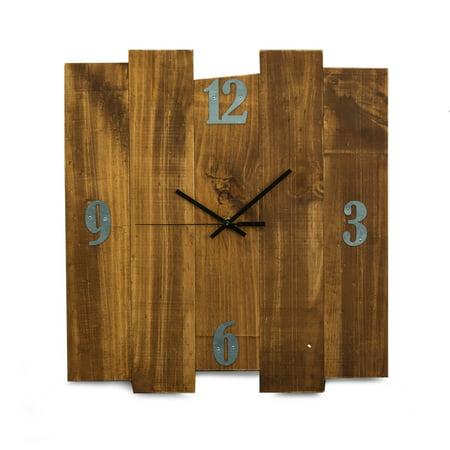 Barn Rustic Wood Wall Clock, 16