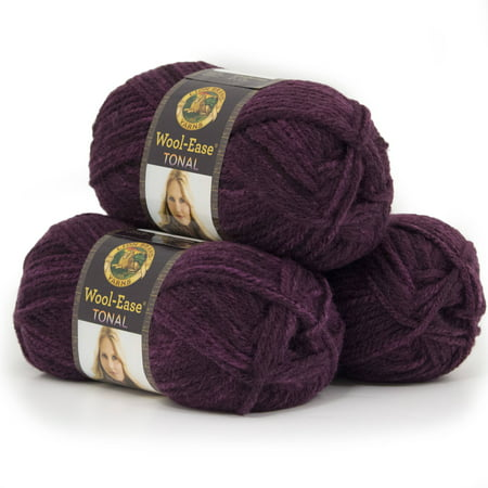 Lion Brand Yarn Wool Ease Tonal 3 Pack Classic Yarn