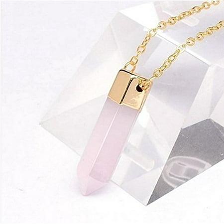 Mm Rose Quartz Necklace (Rose Quartz Pendant Necklace)