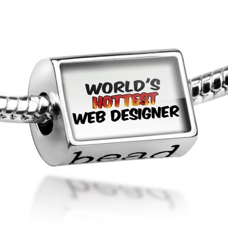 Bead Worlds hottest Web Designer Charm Fits All European (Hottest Women On The Web)