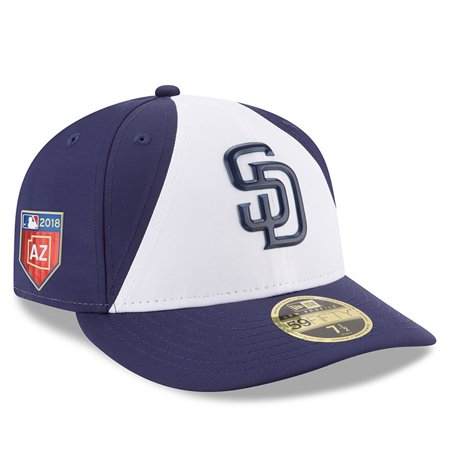San Diego Padres New Era 2018 Spring Training Collection Prolight Low Profile 59FIFTY Fitted Hat - White