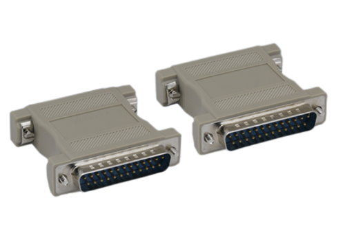 Details about  /DB25 D-Sub 25pin Connectors Mini Gender Changer Adapter RS232 Serial ConnectWP5