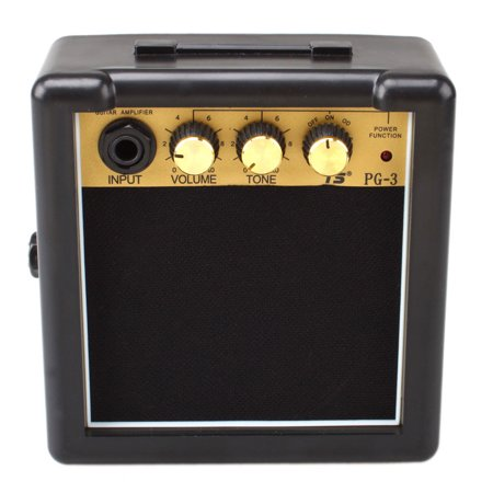 Zimtown 3W PortableMini Electric Guitar Amp Amplifier High-Sensitivity Speaker with Volume Tone Control