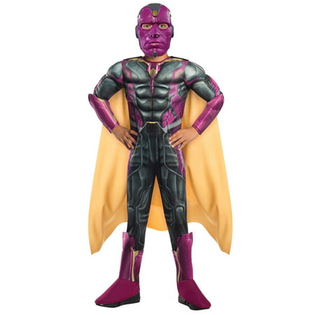 Avengers 2 Deluxe Vision Child Costume (The Vision Avengers 2)