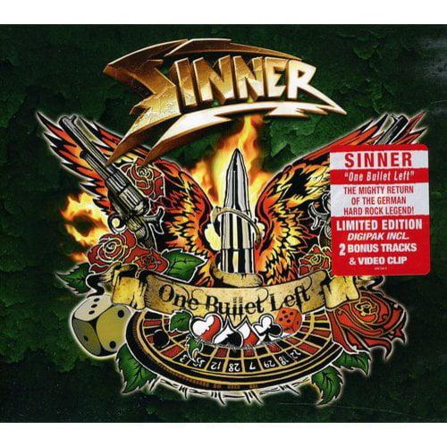 Sinner - One Bullet Left [CD]