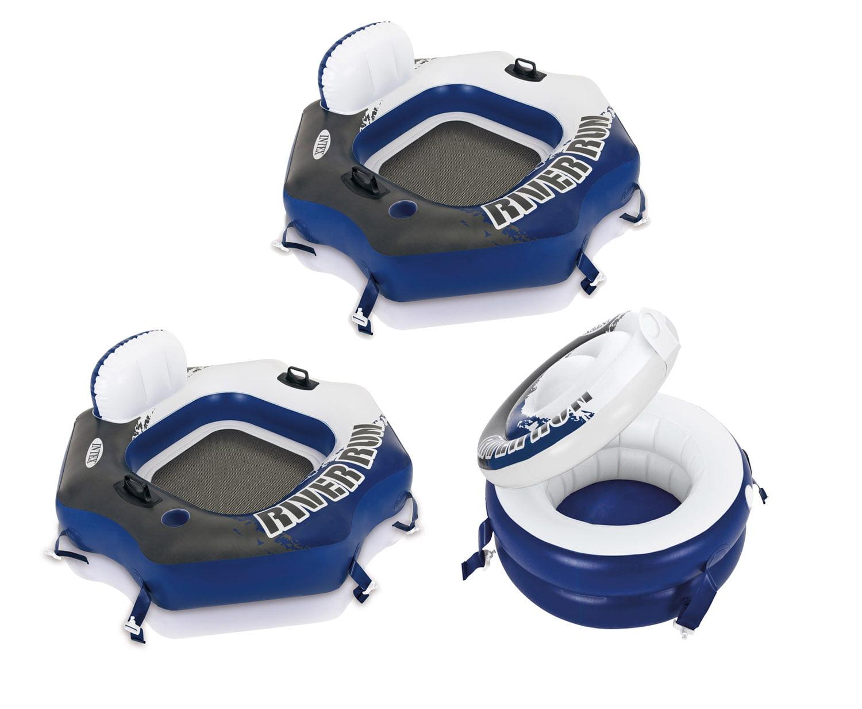 Intex Inflatable Floating Recliner Lounge Walmart Com