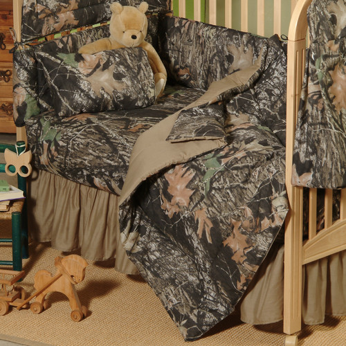 Mossy Oak New Break Up Crib Comforter