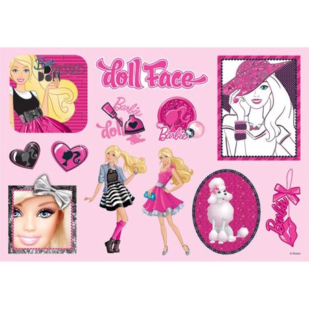 Barbie Sticker Favors (2 Sheets) - Party Supplies