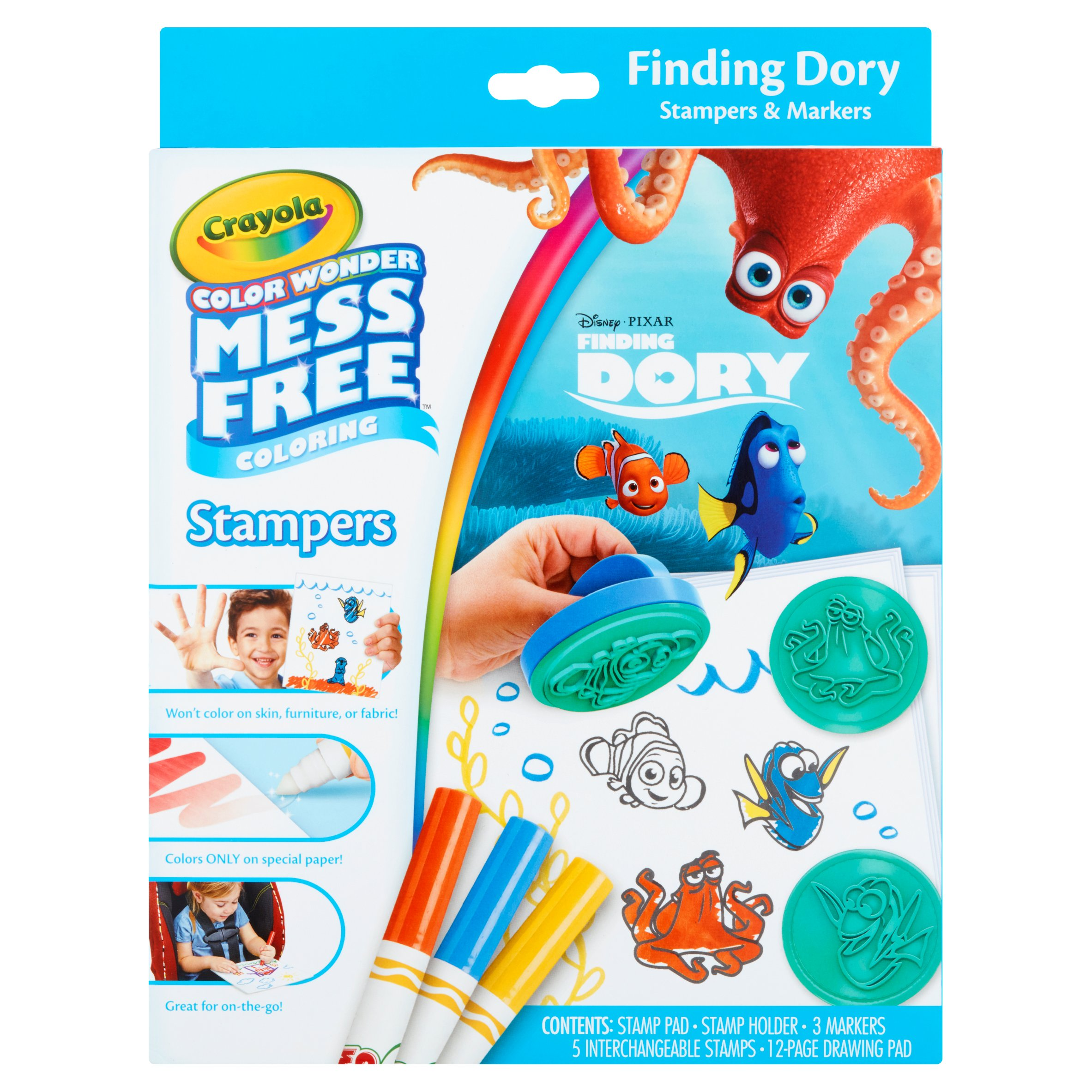 Crayola Disney Finding Dory Stampers & Markers by Crayola