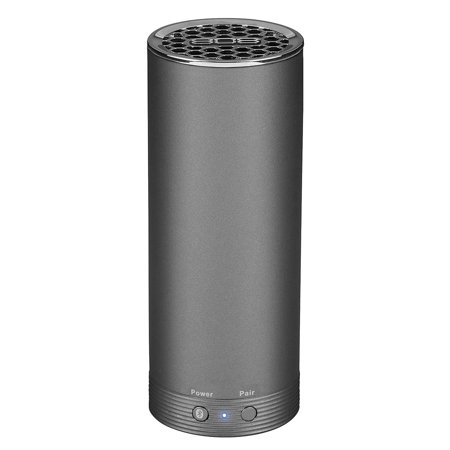 808 Audio NRG Wireless Bluetooth Speaker, Gunmetal Grey