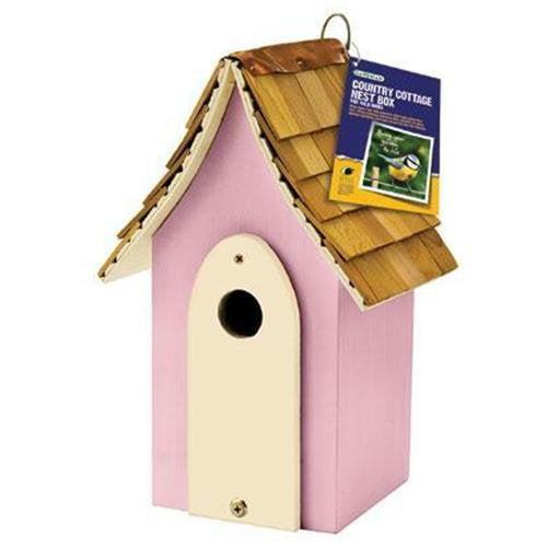 Gardman Usa BA01682 Country Cottage Nest Box Pink