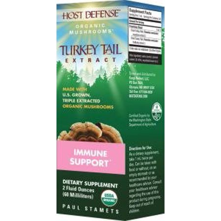 Defense Extract - Turkey Tail Extract Fungi Perfecti/Host Defense 2 fl oz Liquid