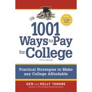 1001 Ways to Pay for College - eBook