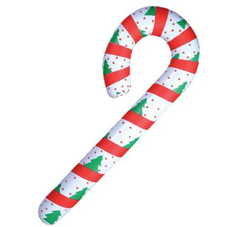 Dozen Festive Inflatable Candy Cane Christmas Decoration (Hanukkah Inflatable Decorations)