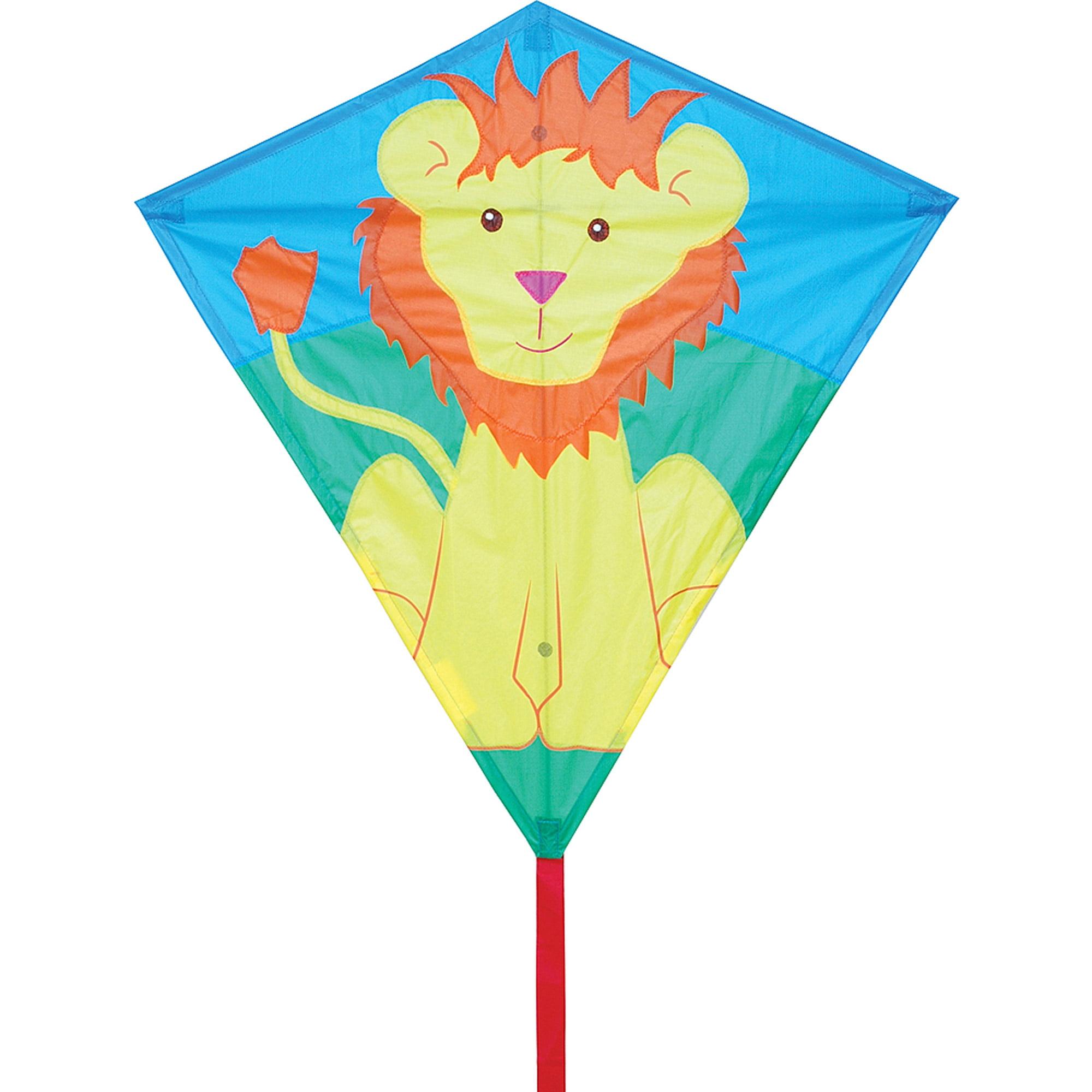 "Premier Designs 30"" Diamond Kite, Lionel Lion"