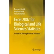 Excel 2007 for Biological and Life Sciences Statistics - eBook