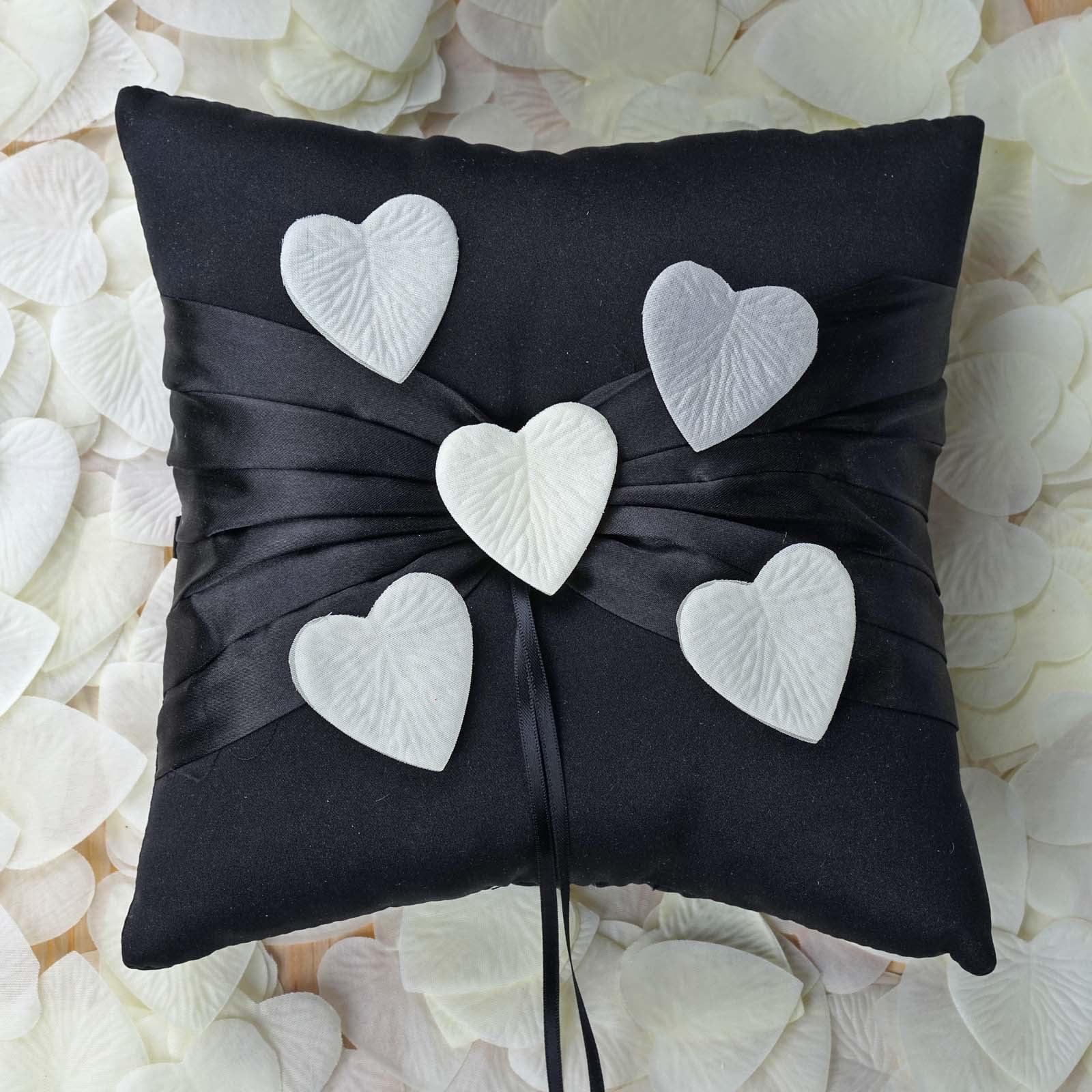 BalsaCircle 500 Heart Shaped Artificial Rose Petals - Wedding Party Event Centerpieces Vases Decorations Supplies